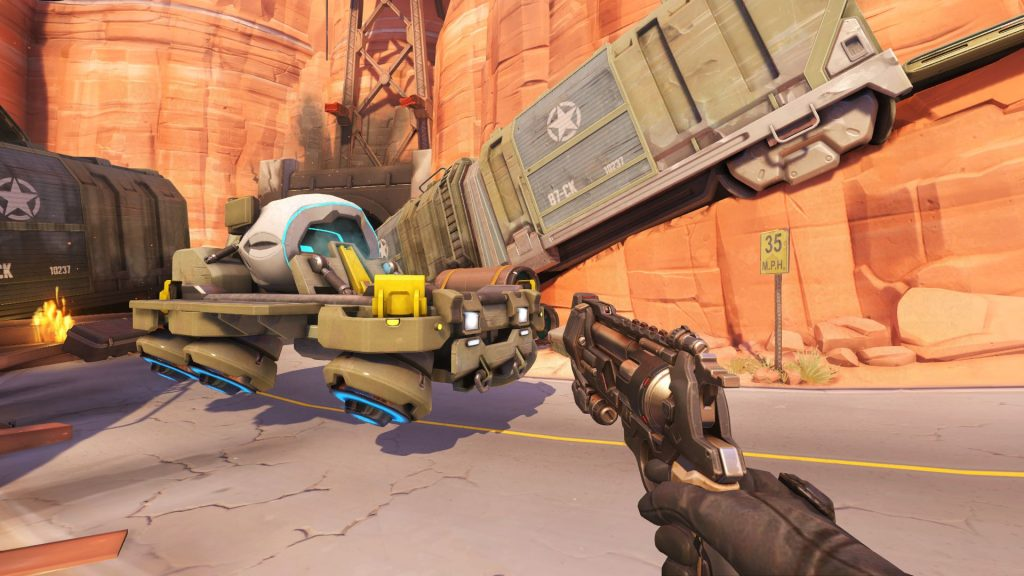 Overwatch Route 66 PTR Payload open