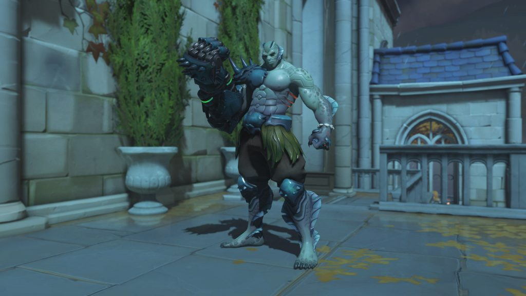 Overwatch Screenshot Halloween Horror 2018 Skin Doomfist