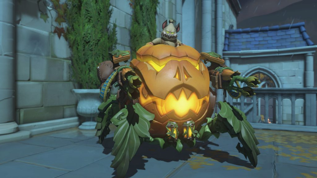 Overwatch Screenshot Halloween Horror 2018 Skin Hammond