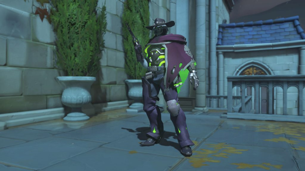 Overwatch Screenshot Halloween Horror 2018 Skin McCree