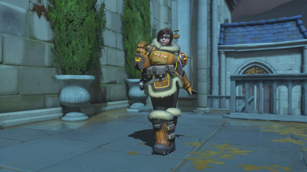 Overwatch Screenshot Halloween Horror 2018 Skin Mei