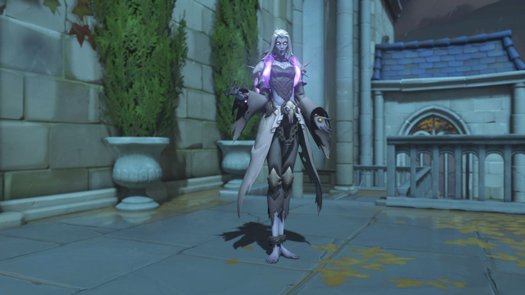 Overwatch Screenshot Halloween Horror 2018 Skin Moira