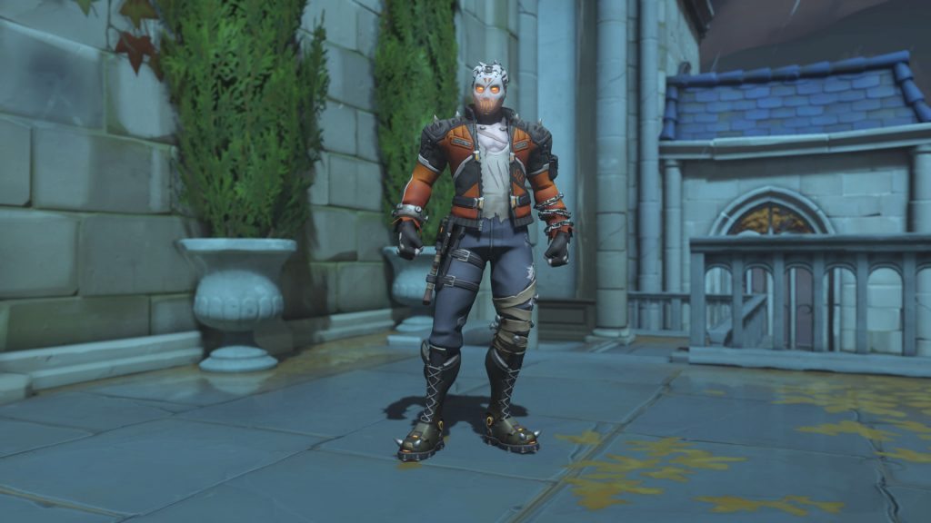Overwatch Screenshot Halloween Horror 2018 Skin Soldier 76