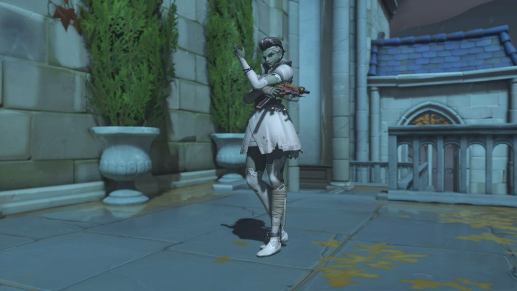 Overwatch Screenshot Halloween Horror 2018 Skin Sombra