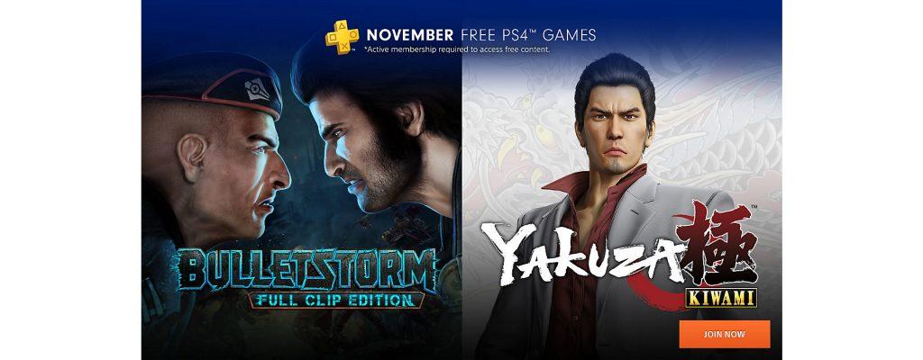 Die kostenlosen PS Plus Spiele für die PS4 im November sind bekannt