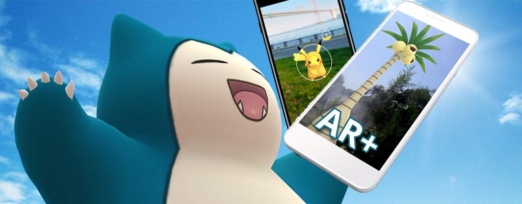 Pokémon GO AR+ Titel2