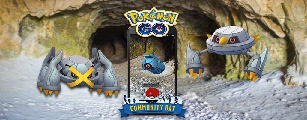 Pokémon GO Community Day Tanhel Titel2