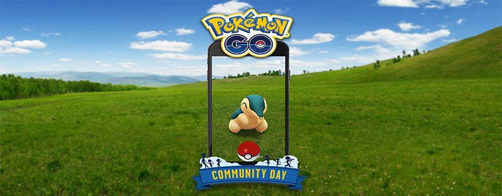 Pokémon GO Feurigel Community Day Titel