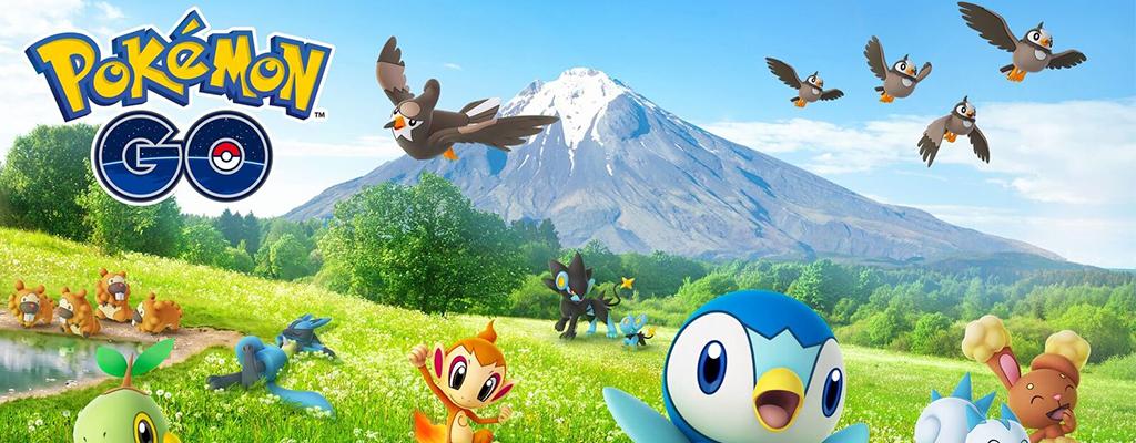 Diese Pokémon der 4. Generation gibt es jetzt in Pokémon GO zu fangen