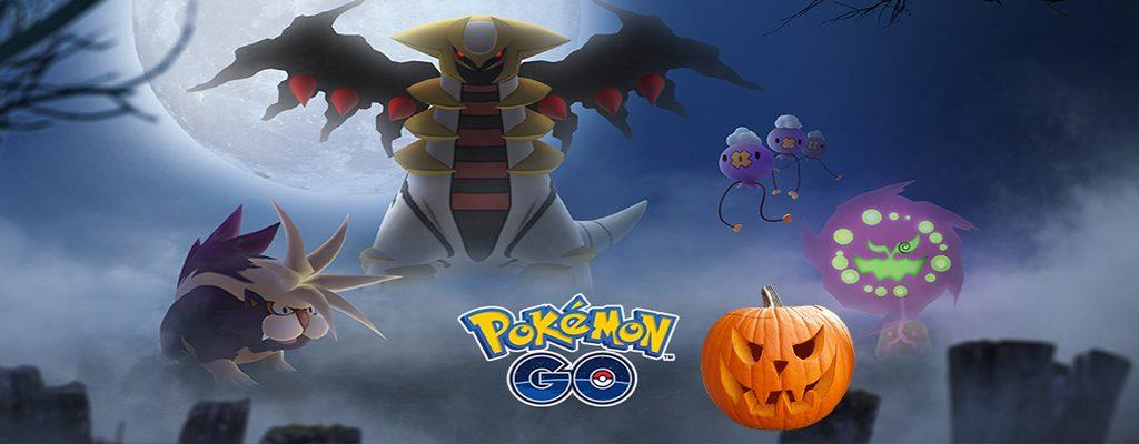 Pokémon GO Halloween 2018 Titel