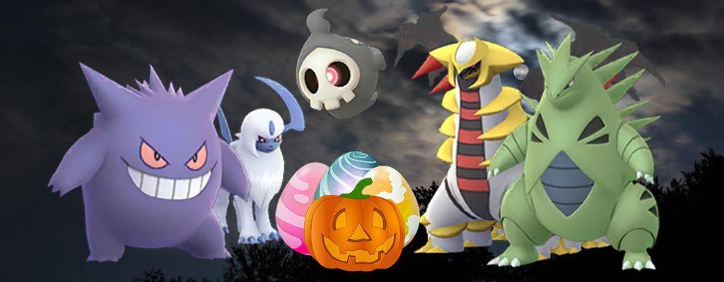 Pokémon GO Raidbosse Übersicht Halloween