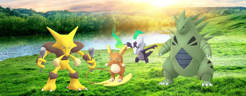 Pokémon GO Raidbosse Oktober