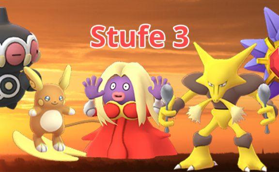 Pokémon GO T3 Raids SOlo Titel