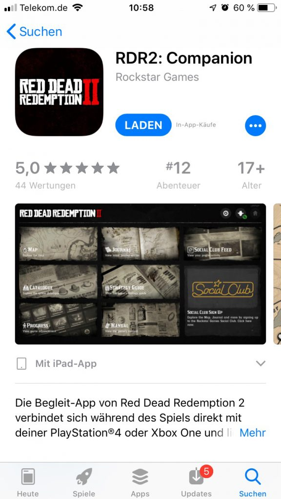 Red Dead Redemption 2: Companion App Guide - So funktioniert's