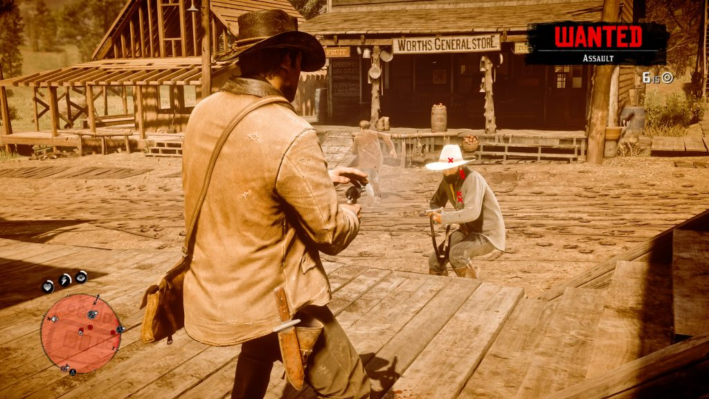 Dead Eye in Red Dead Redemption 2 Kampf Schießen
