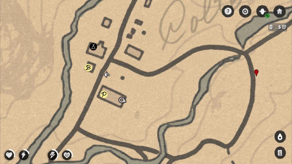 RDR 2 Karte Markierung Companion