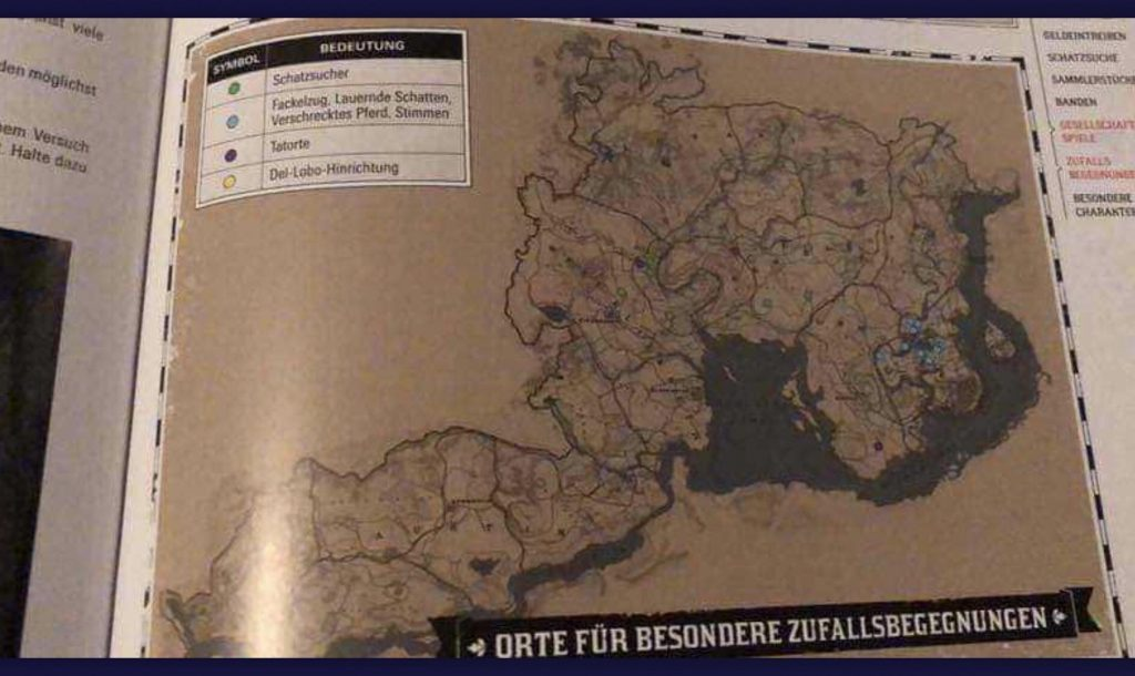 RDR 2 Map Leak