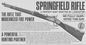 RDR 2 Springfield Rifle