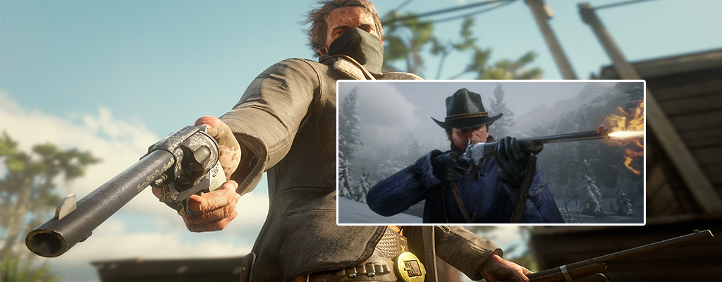 Mit diesen Waffen ballert Ihr in Red Dead Redemption 2