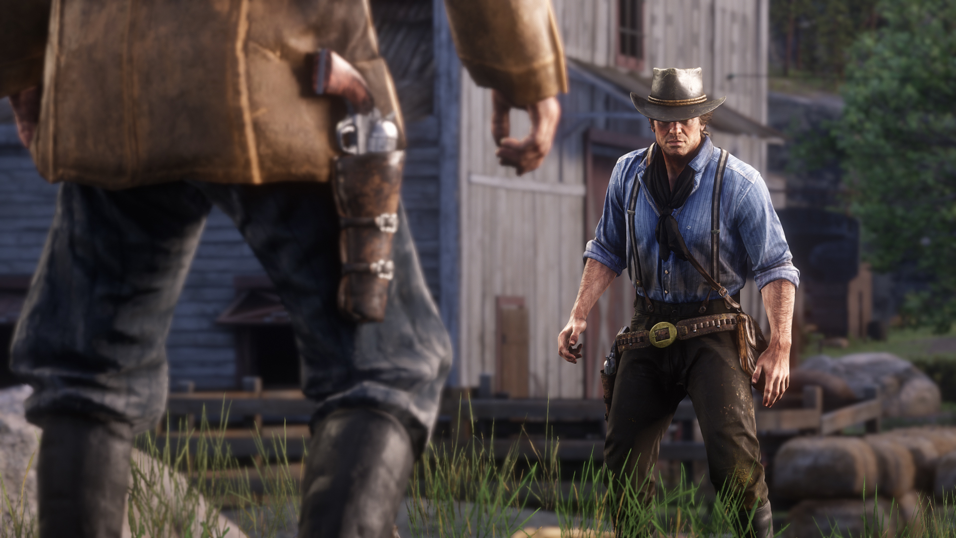 Red Dead Redemption 2 Arthur Duell