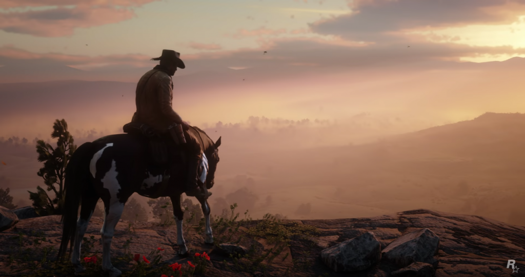 Red Dead Redemption 2 Aussicht