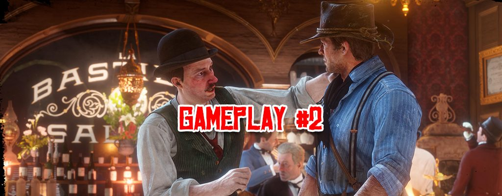 Red Dead Redemption 2 Gameplay Titel