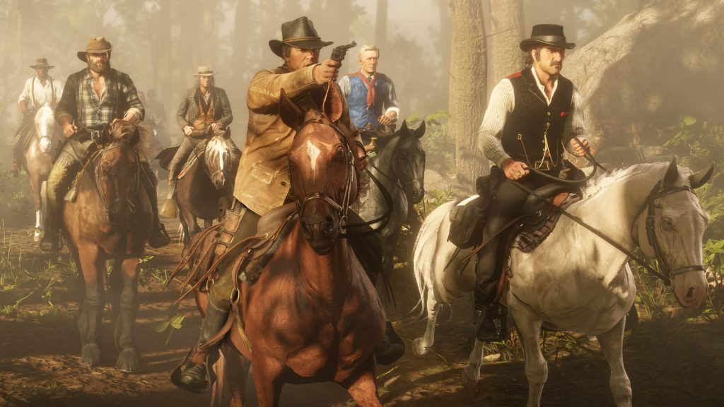 Red Dead Redemption 2 Gang ausreiten