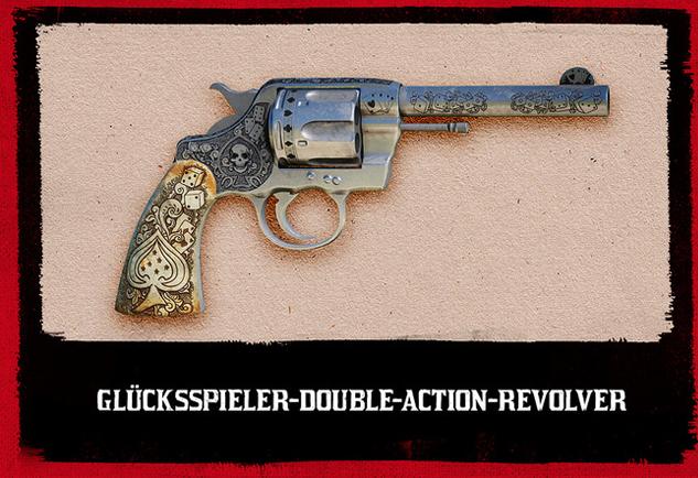 Red Dead Redemption 2 Glücksspiel Revolver
