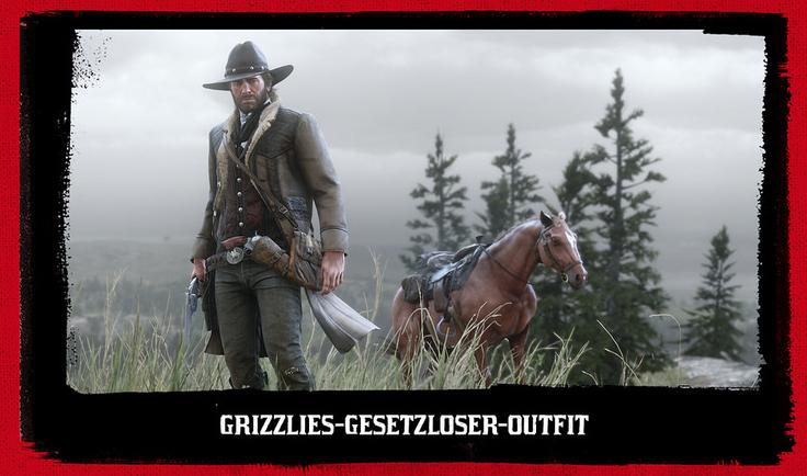 Red Dead Redemption 2 Grizzlies Gesetzloser