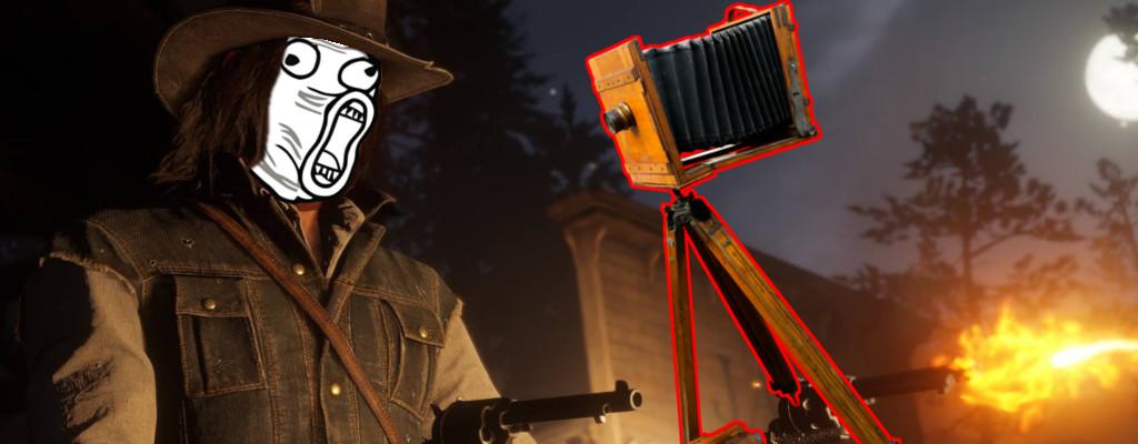 Kinokamera sorgt in Red Dead Redemption 2 für lustige Katastrophen