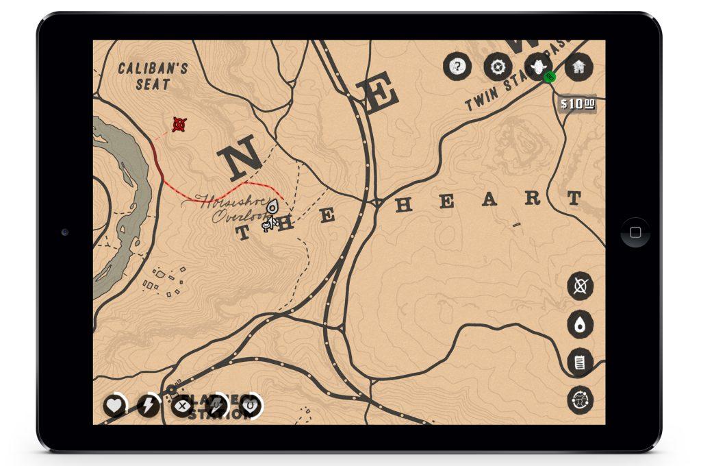 Red Dead Redemption 2 Karte Companion