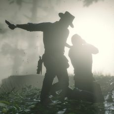 Red Dead Redemption 2 Mord Blut Detail