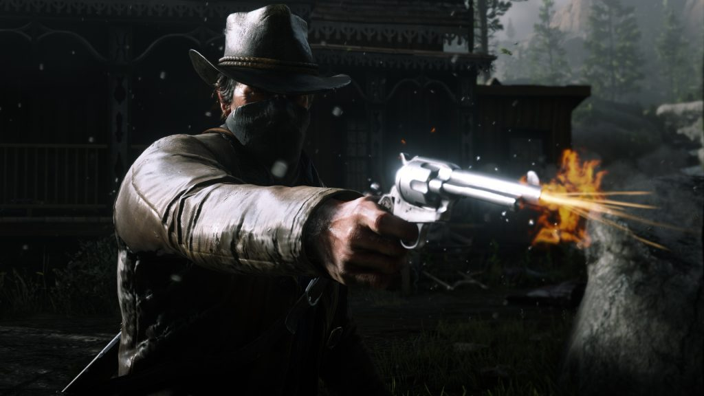 Red Dead Redemption 2 Schuss Detail