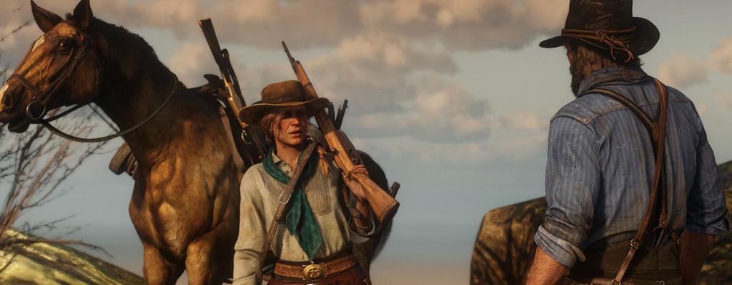 Arthur weint in Red Dead Redemption 2, wenn sein geliebtes Pferd stirbt