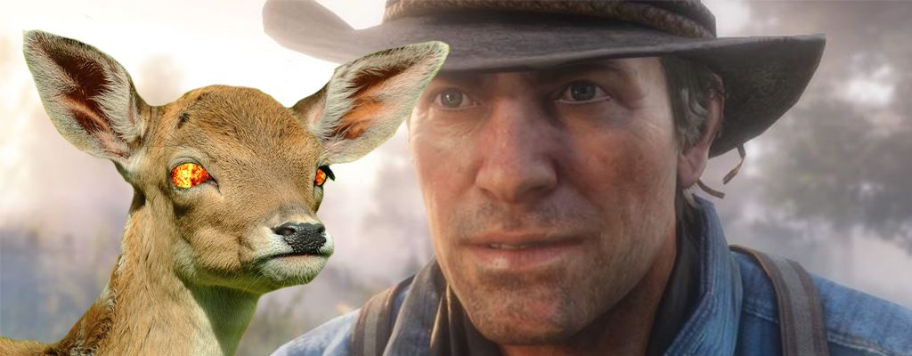Red Dead Redemption 2 Wildtiere Aggro Titel