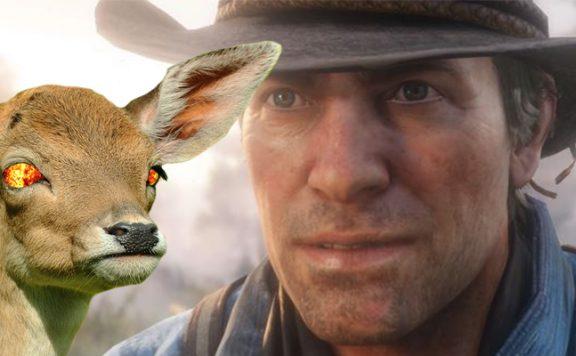 Red Dead Redemption 2 Wildtiere Aggro Titel