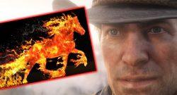 Red Dead Redemption Ey Alter Dein Pferd brennt