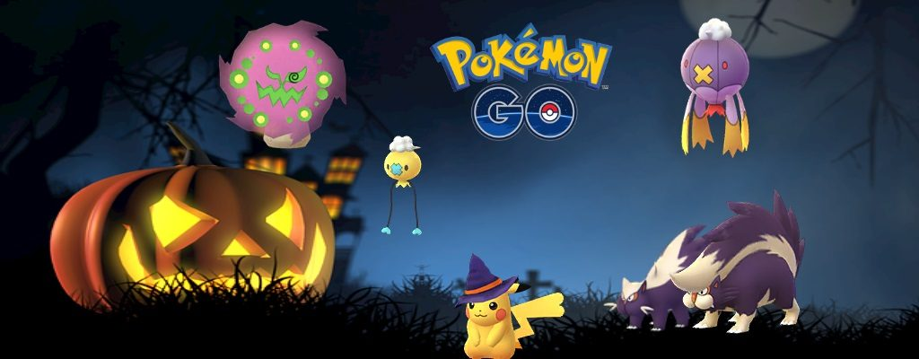 Titelbild Halloween Event Pokemon GO