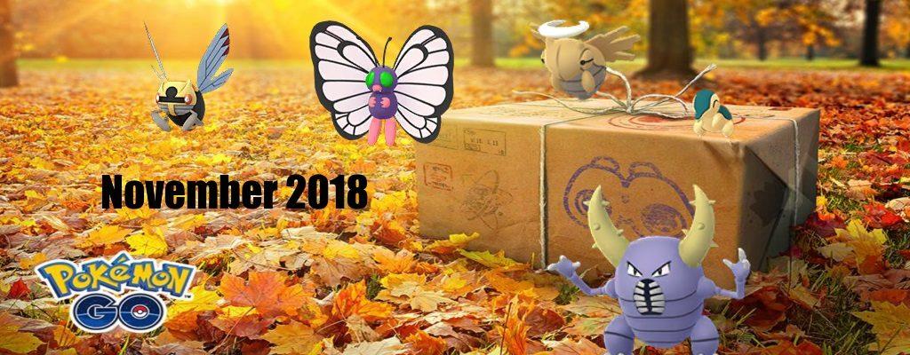 Titelbild November Pokemon GO