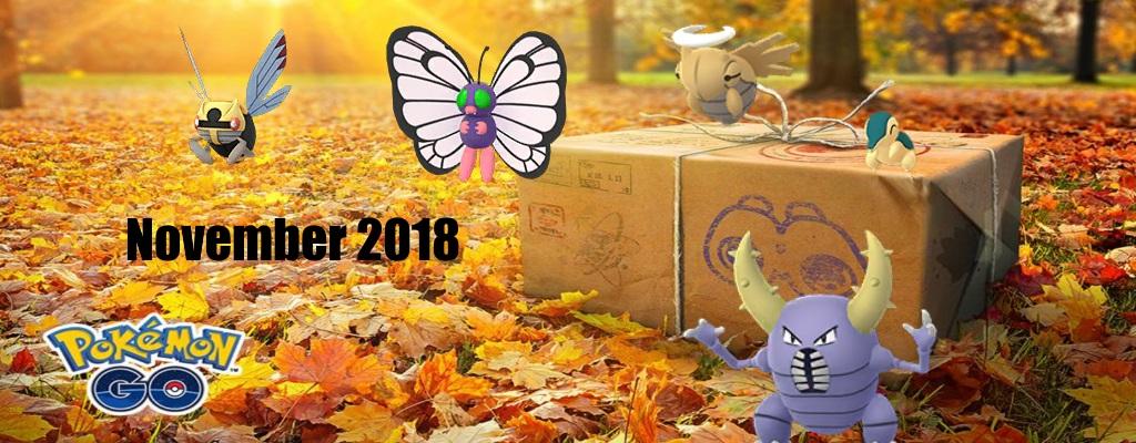 Pokémon GO: Freut euch auf diese Events im November