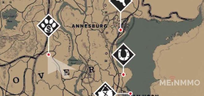 Trapper Nähe Annesburg