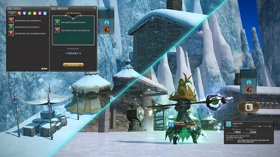 final fantasy xiv eureka pyros logos system
