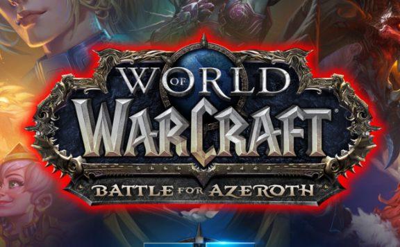 WoW BlizzCon 2018 title