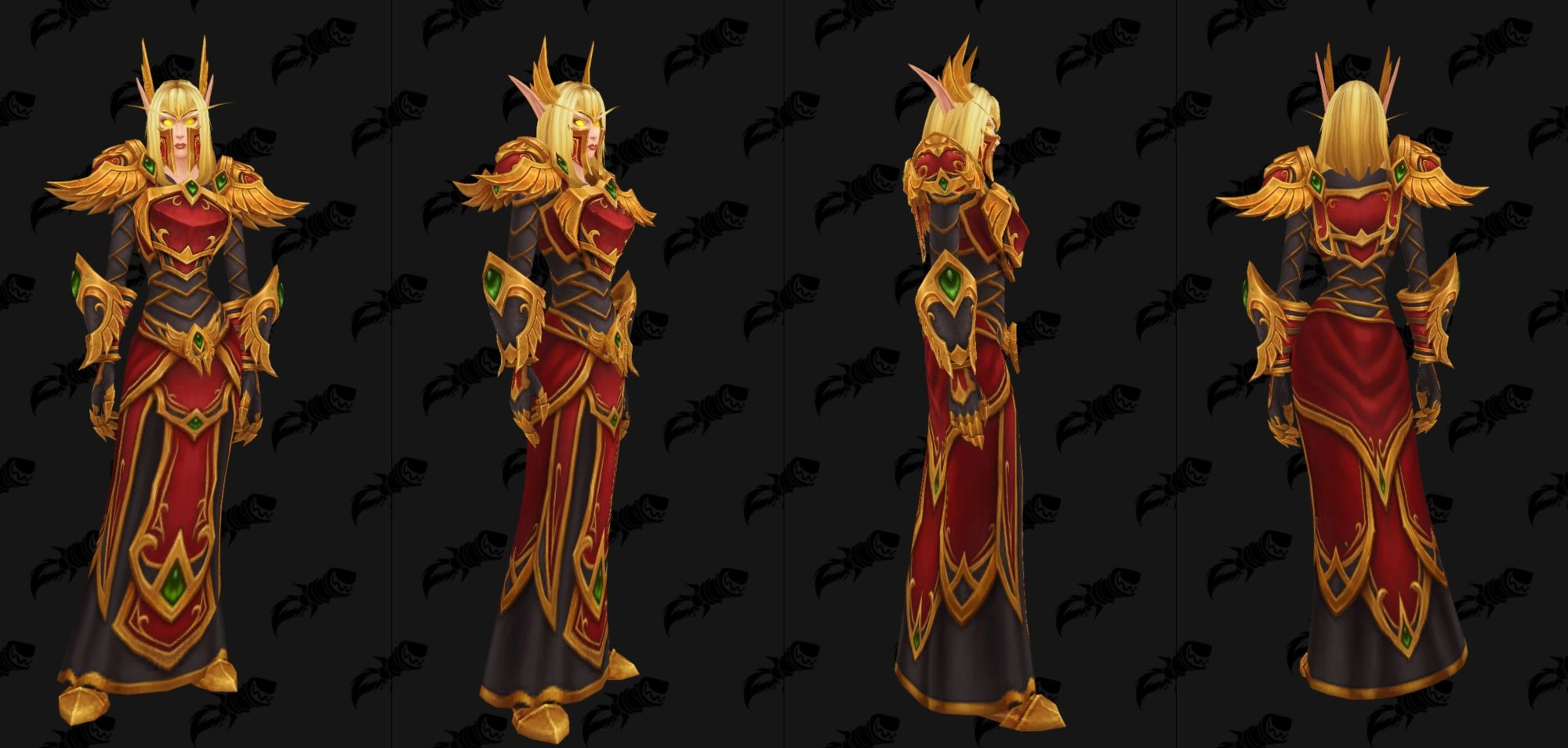 WoW Blood Elf Heritage Female Robe