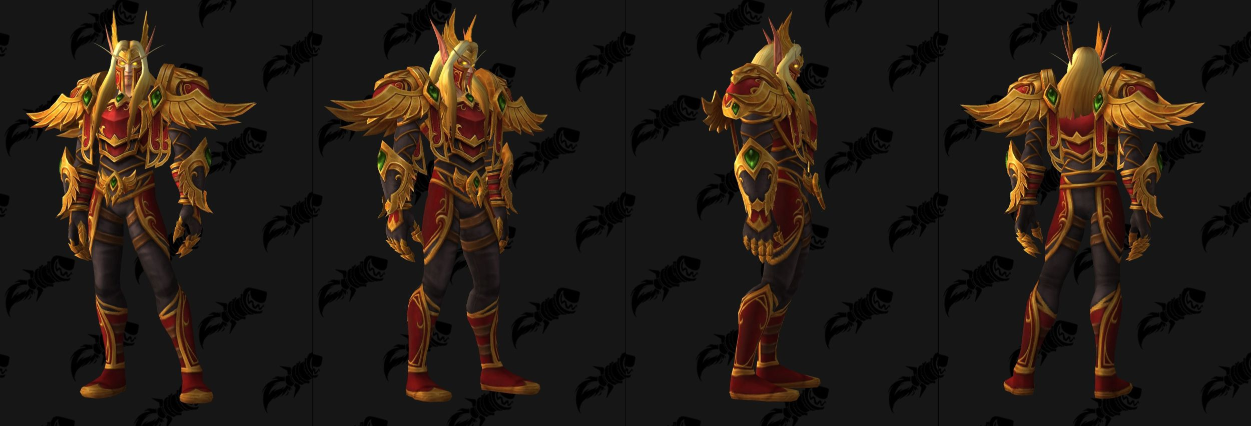 WoW Blood Elf Heritage Male Tunica