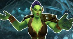 WoW Fragende Orcfrau vor Underrot Titel