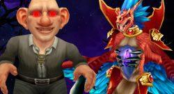 WoW Gnome grin evil Hakkar title