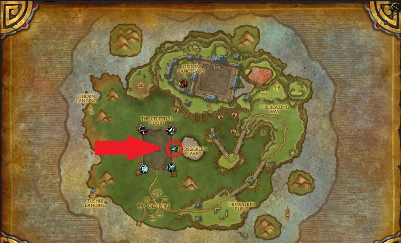 WoW Mistweaver Xia Map