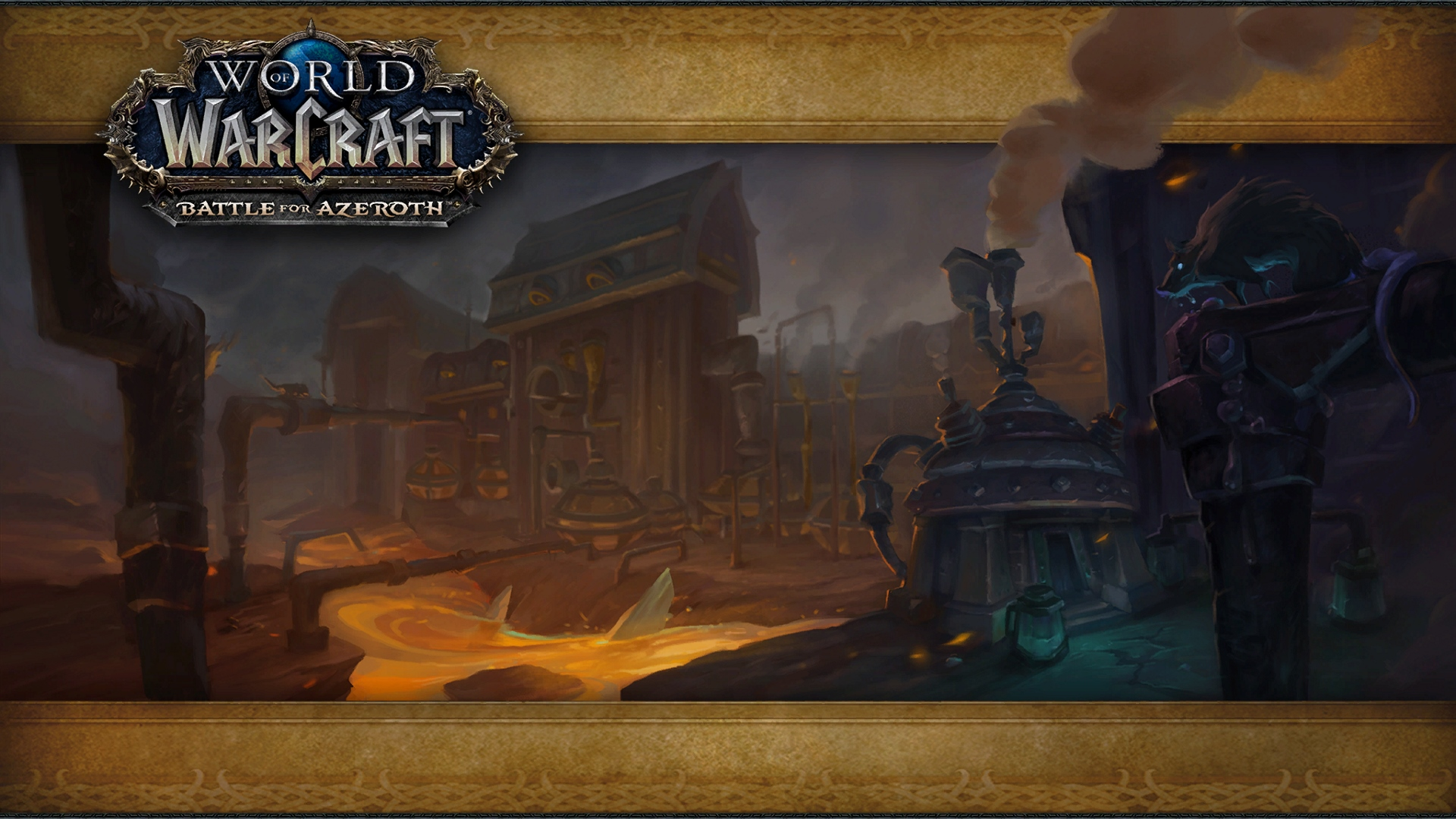 WoW Motherlode Loading Screen