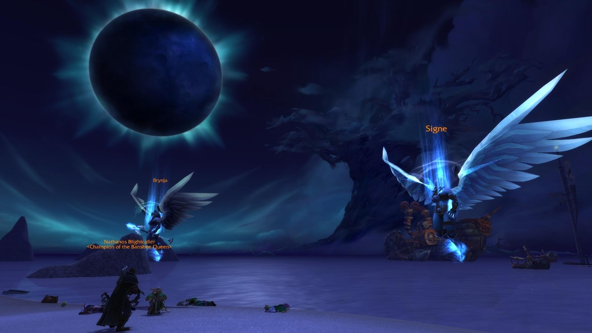 WoW Nathanos Valkyr Night Warrior Quest Darkshore